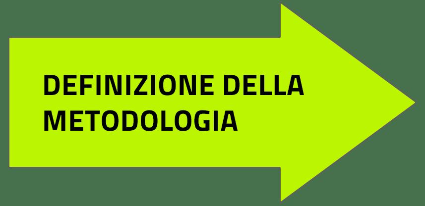 definizione della metolodogia